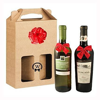 Classic Dual Italian Wines:Send Corporate Gifts to Finland