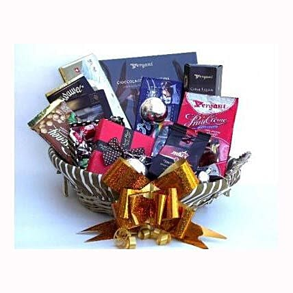 Holiday coffee and Sweets Gift Basket