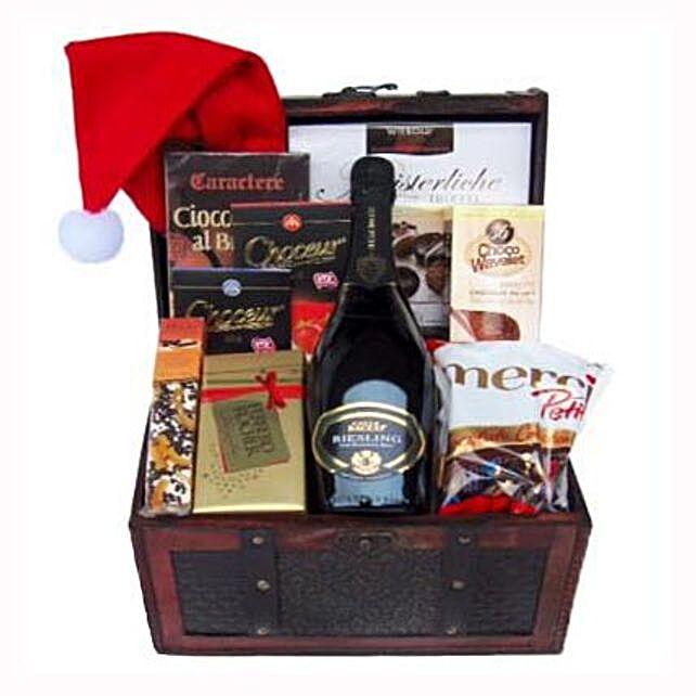 Ravishing Success Christmas Gift Basket:Send Corporate Gifts to France