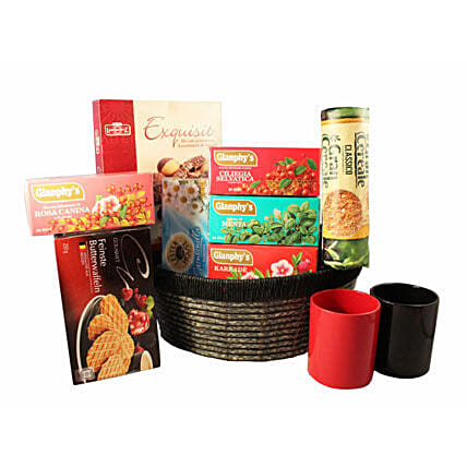 Tea Time Gift basket:Corporate Hampers to France