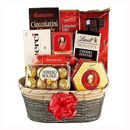 The Sweetvaganza Gift Basket:Send Corporate Gifts to France
