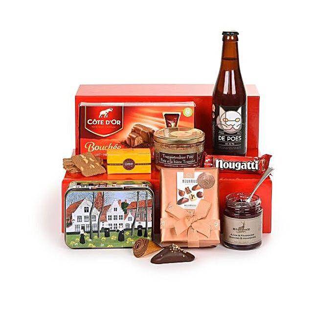 Belgian Treats Hamper:Send Gifts to France