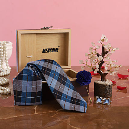 Blue Tie Set:All Gifts