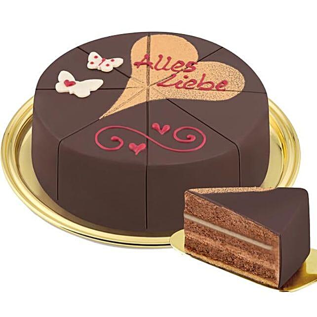 Dessert Cake Alles Liebe