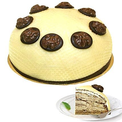 Dessert Walnut Cream Cake