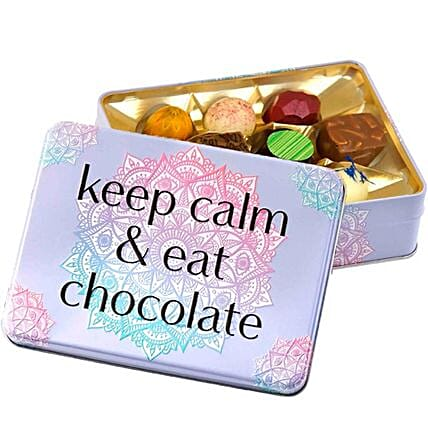 Gift Box Keep Calm And Eat Chocolate
