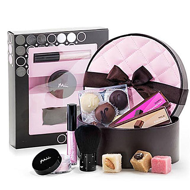 Mii Make Up And Neuhaus Chocolate Combo Gift