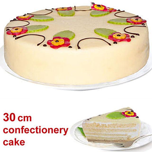 Delicious Almond Base Cake