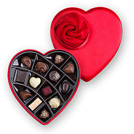 Ruby Red Chocolate Box:Gifts to Greece