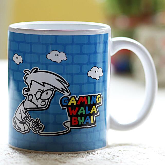 Online Bhai Dooj Quotes Mug:Send Bhai-Dooj Gifts to Hong Kong