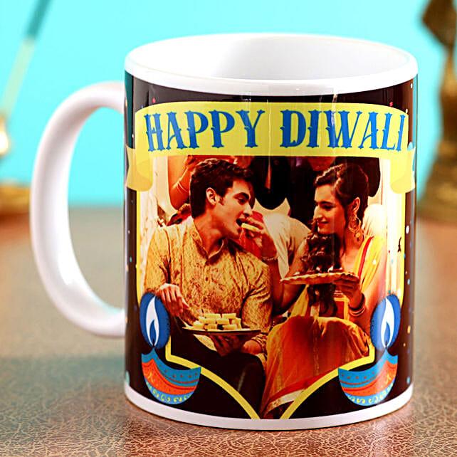 best diwali white mug online