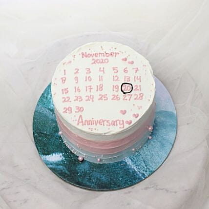 Birthday Calendar Blackforest Cake