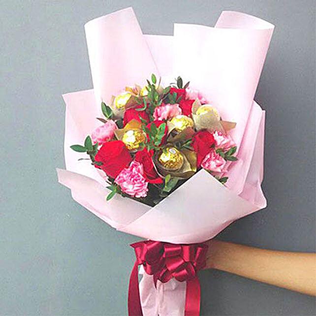 Choco Floral Bouquet