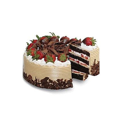Choco & Strawberry Gateaux:Valentine Cakes in Indonesia