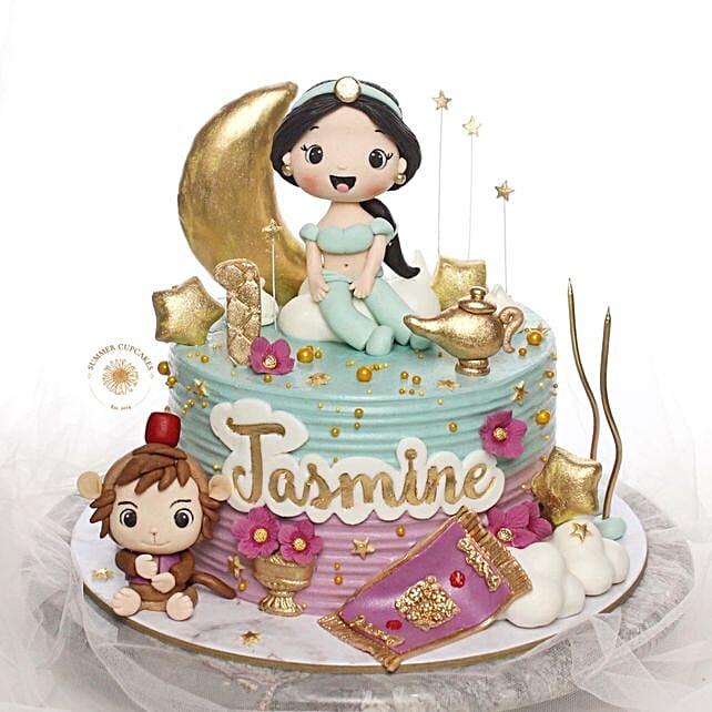 Jasmine Buttercream Blackforest Cake