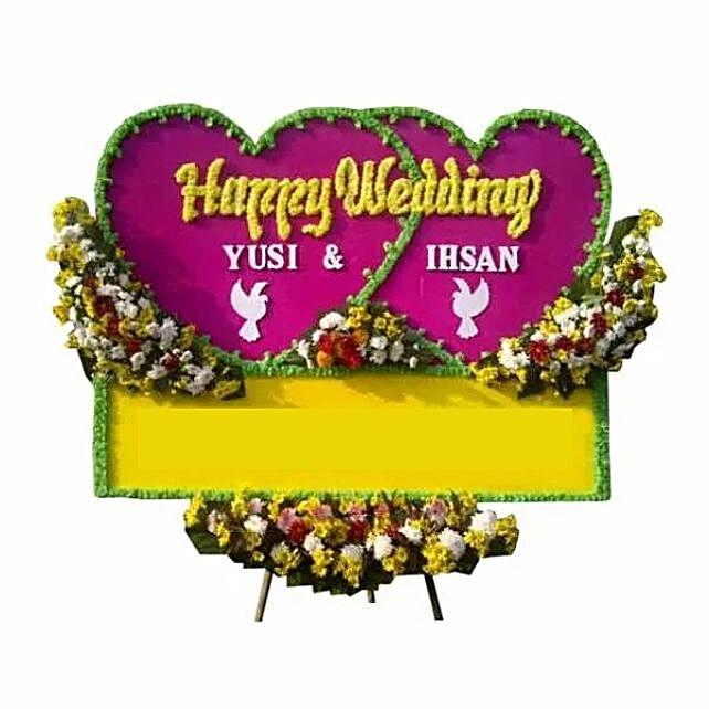 Jubilant Flower Board