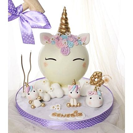 Unicorn Theme Pinata Sweet Treats Half Kg