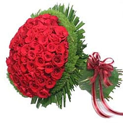Bunch of 100 roses INDO