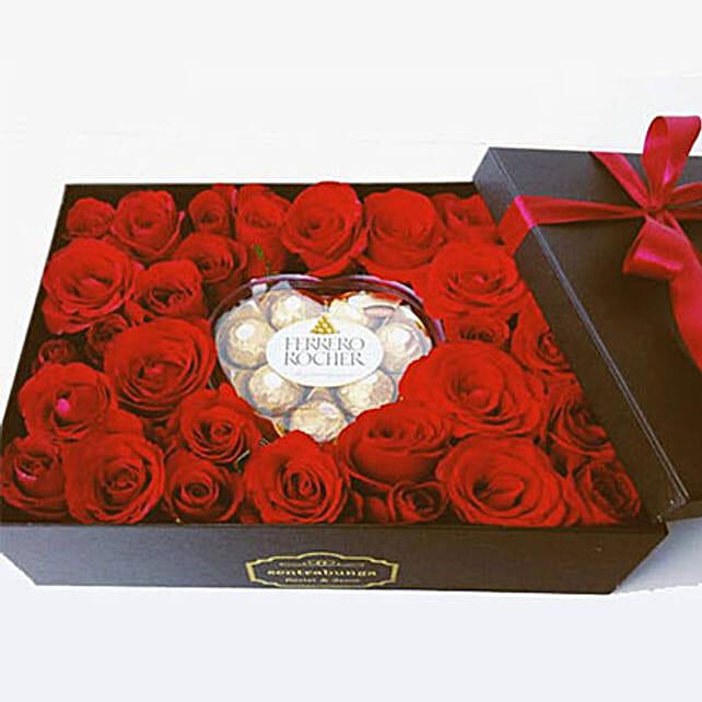Classic Romance Flower Box