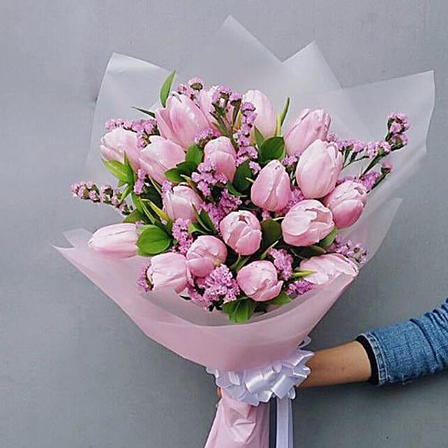 Exotic Tulips Bouquet