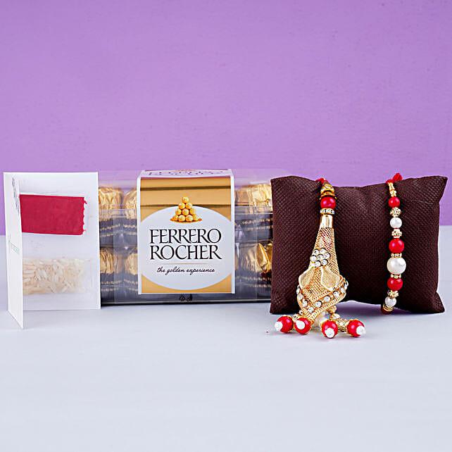 Fancy Lumba Set And 12 Pcs Ferrero Rocher