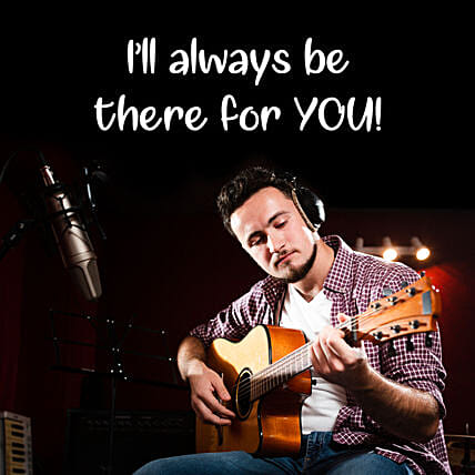 There For You Special Guitarist on Video Call 10 15 Mins