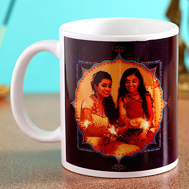 personalised diwali mug for her online:Diwali Gifts to Ireland