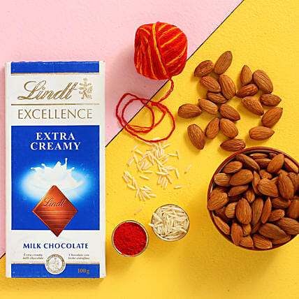 Bhai Dooj Special Lindt And Almonds Combo