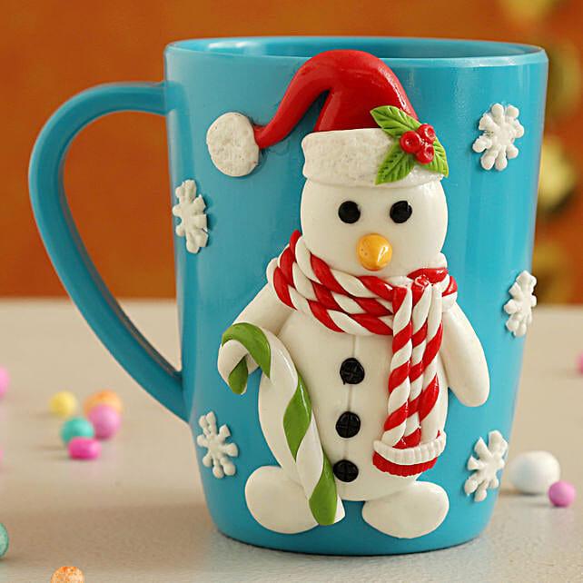 Xmas Special Frosty Snowman  Mug:Send Christmas Gifts to Ireland