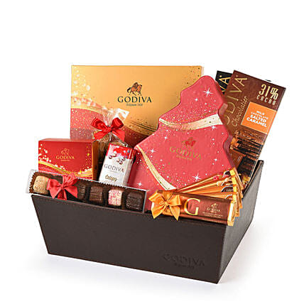 Sparkling Christmas Hamper:Gifts to Italy