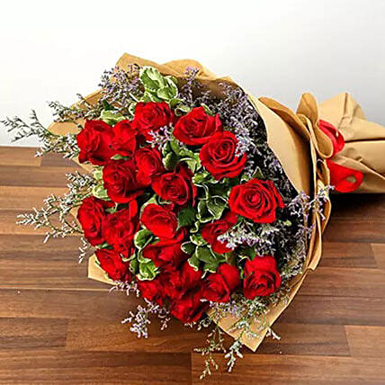 Bouquet Of Love:Anniversary Flower Delivery in Kuwait