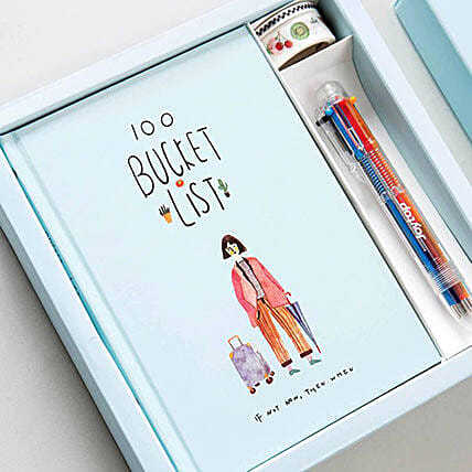 100 Bucket List Gift Set