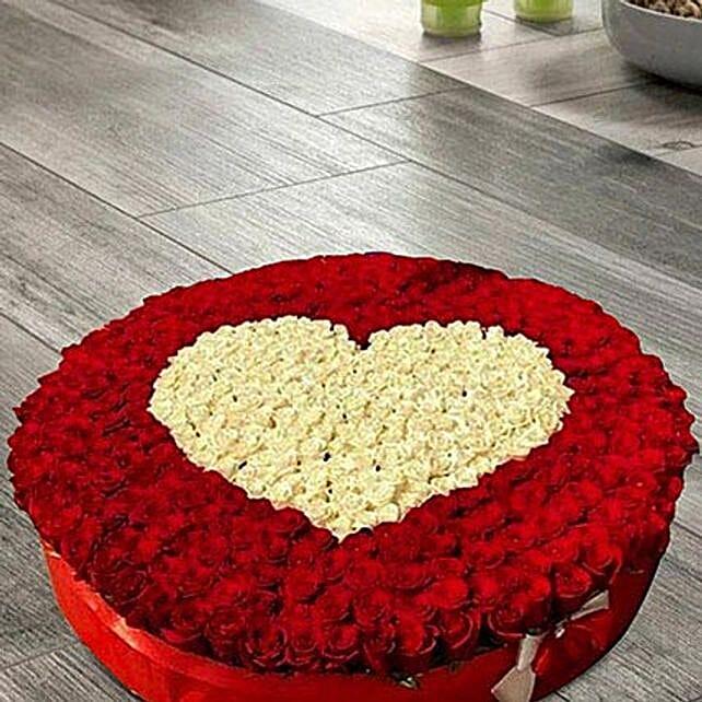 1100 Roses arrangement