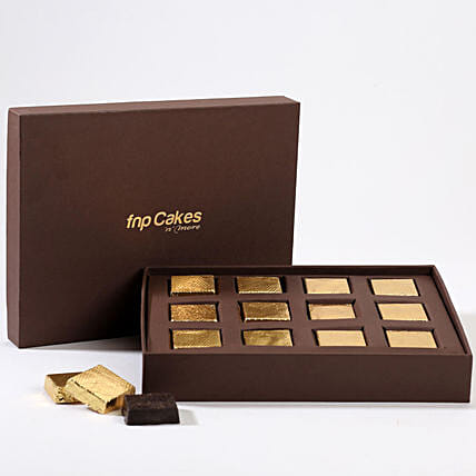 lots of chocolate in attractive box