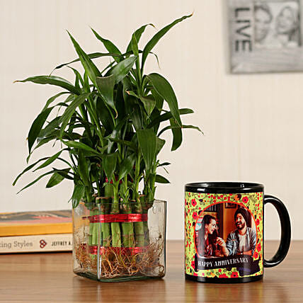 2 layer bamboo with printed mug