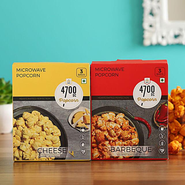 4700BC Microwave Popcorn, BBQ & Cheese Bag