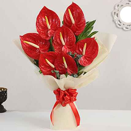 exotic flower bouquet:Send Anthuriums