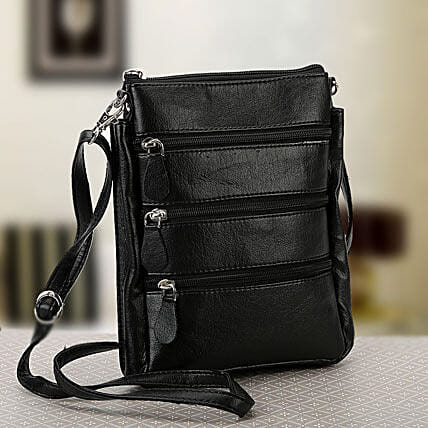 Unisex sling bag:Leather Gifts