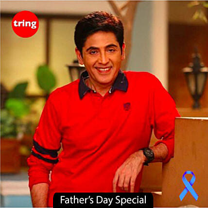 popular celebrity personalised video message for dad