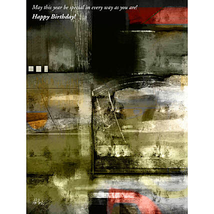 Abstract Art Personalised Painting