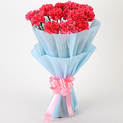 Adorable Pink Carnations Bouquet:Mothers Day Gifts to Jaipur