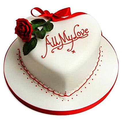 All My Love Cake 2kg Black Forest