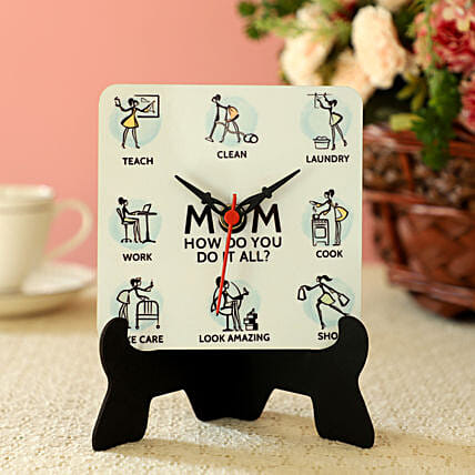 Online Mother Table Clock