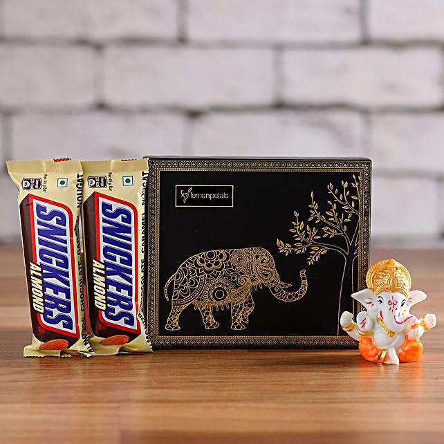 Snickers & Ganesha Idol in a Box