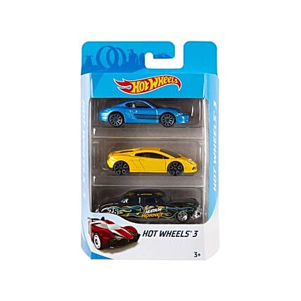 Set of 3 Hot Wheels Cars