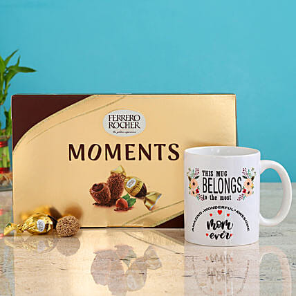 Amazing Mom Mug Ferrero Rocher