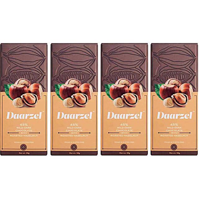Online Hazelnut Dark Chocolate