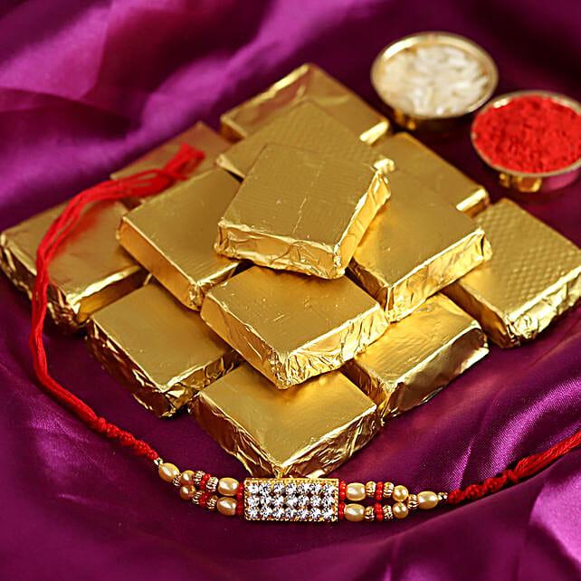 online american diamond rakhi