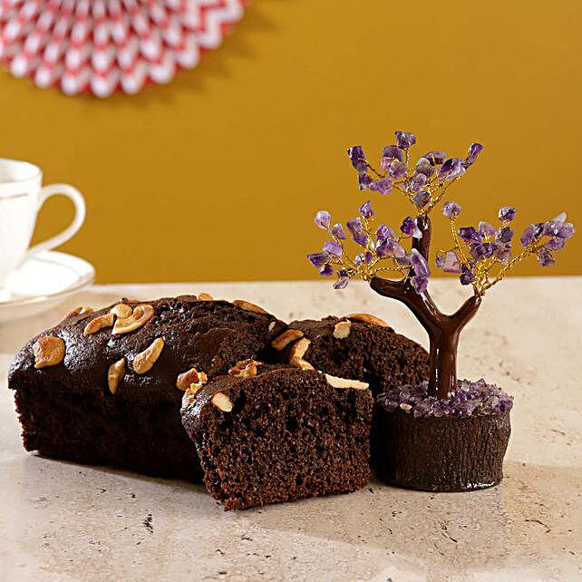 Amethyst Wish Tree Date Walnut Dry Cake