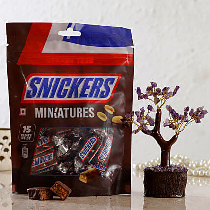 Amethyst Wish Tree Snickers Miniatures